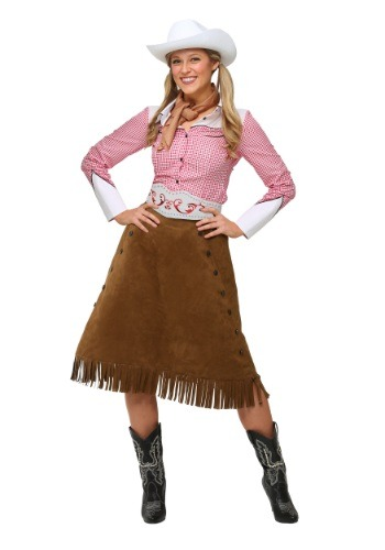 Click Here to buy Adult Rodeo Cowgirl Costume from HalloweenCostumes, CDN Funds & Shipping