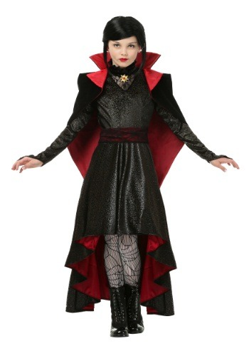 Click Here to buy Girls Vampire Vixen Costume from HalloweenCostumes, CDN Funds & Shipping