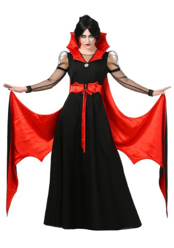 Click Here to buy Womens Batty Vampire Costume from HalloweenCostumes, CDN Funds & Shipping