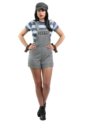Click Here to buy Womens Chain Gang Prisoner Costume from HalloweenCostumes, CDN Funds & Shipping