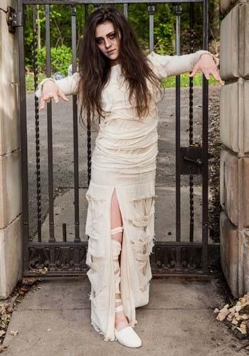 Women's Full Length Mummy Costume