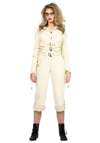 Womens Insane Asylum Straitjacket Costume