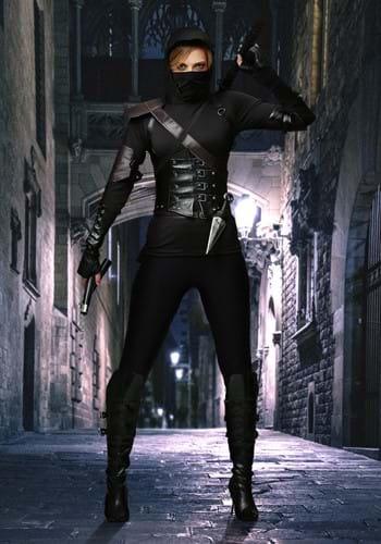 Women's Ninja Assassin Costume