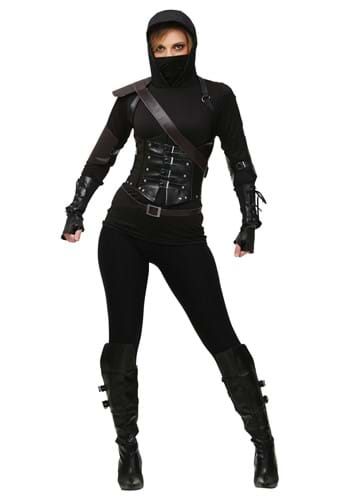 Click Here to buy Womens Ninja Assassin Costume from HalloweenCostumes, CDN Funds & Shipping