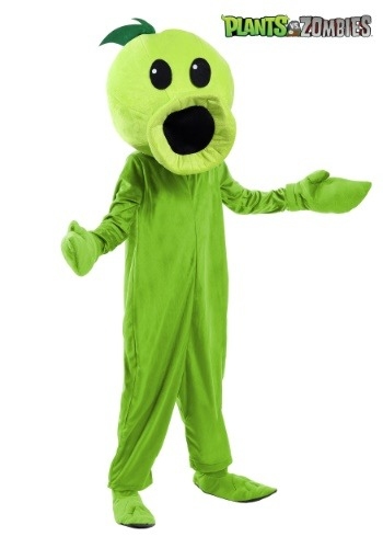 Plants Vs Zombies Child Peashooter Costume