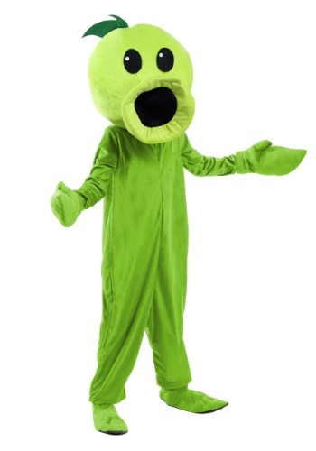 Click Here to buy Plants Vs Zombies Peashooter Kids Costume from HalloweenCostumes, CDN Funds & Shipping