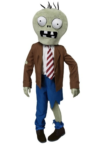 Click Here to buy Kids PLANTS VS ZOMBIES Zombie Costume from HalloweenCostumes, CDN Funds & Shipping