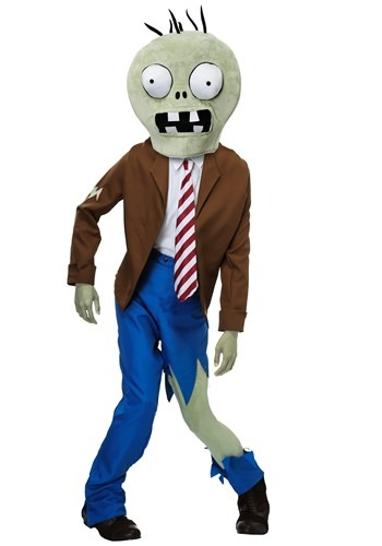 PLANTS VS ZOMBIES Zombie Adult Size Costume