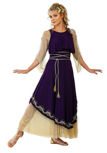 Click Here to buy Aphrodite Goddess Womens Costume from HalloweenCostumes, CDN Funds & Shipping