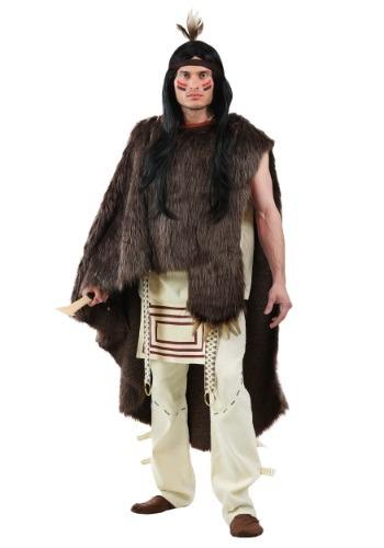 Deluxe Native Warrior - Plus Size Costume for Men