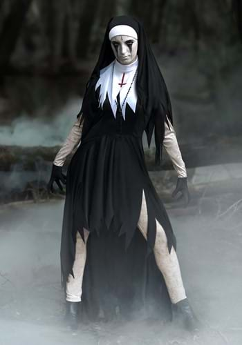 Women's Dreadful Nun Costume