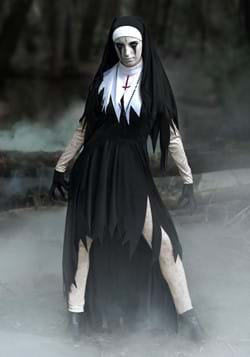 Women's Dreadful Nun Costume