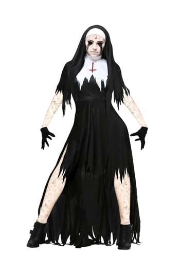 Womens Dreadful Nun Costume