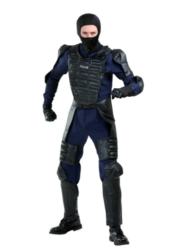 Riot Police Officer Costume for Adults