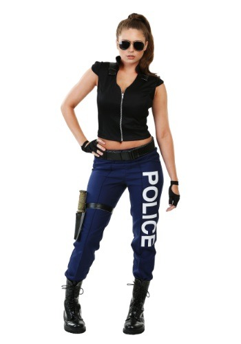 Click Here to buy Womens Tactical Police Costume from HalloweenCostumes, CDN Funds & Shipping