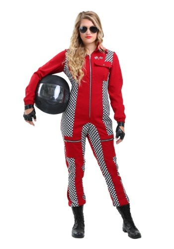 Racer Jumpsuit Plus Size Womens Costume