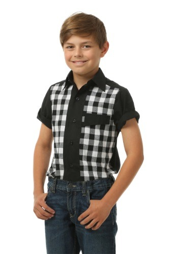 Click Here to buy Kids 50s Bowler Shirt from HalloweenCostumes, CDN Funds & Shipping