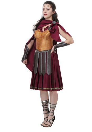 Gladiator Plus Size Costume for Women