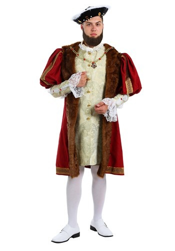 Click Here to buy King Henry Costume for Plus Size Men | Historical Costumes from HalloweenCostumes, CDN Funds & Shipping