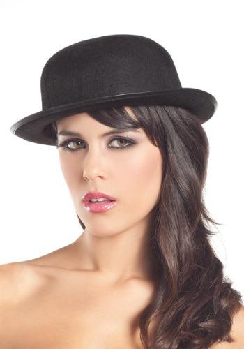 Woman's Felt Derby Hat