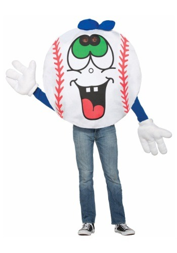 Click Here to buy Adult Baseball Mascot Costume from HalloweenCostumes, CDN Funds & Shipping