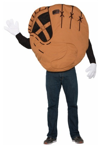 Click Here to buy Adult Baseball Mitt Costume from HalloweenCostumes, CDN Funds & Shipping