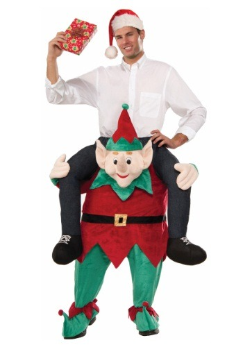 Myself on an Elf Costume