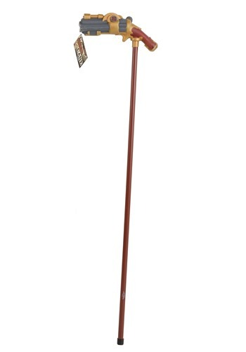 Click Here to buy Steampunk Pistol Grip Cane from HalloweenCostumes, CDN Funds & Shipping