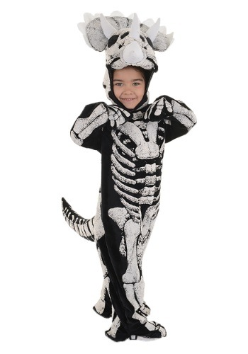 Triceratops Fossil Costume for Boys