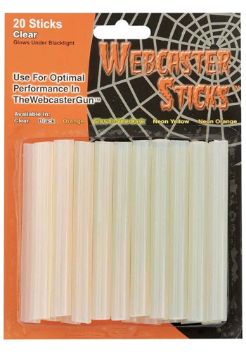 Clear Webcaster Sticks