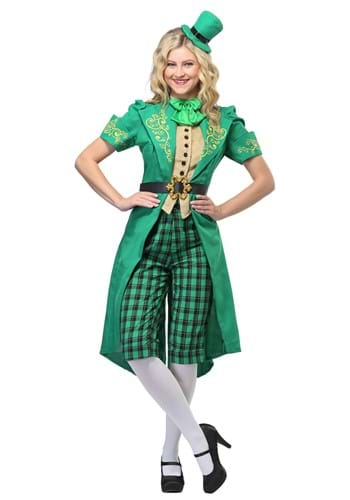 Click Here to buy Charming Leprechaun Womens Costume from HalloweenCostumes, CDN Funds & Shipping