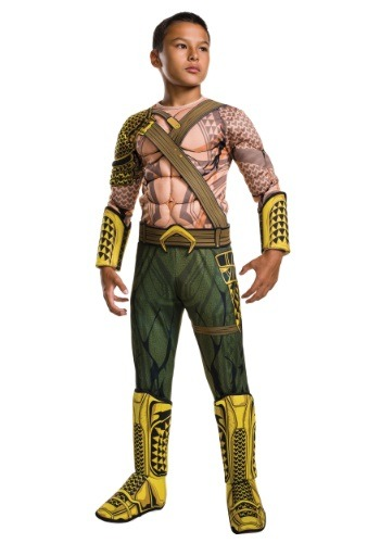 Deluxe Child Dawn of Justice Aquaman Costume