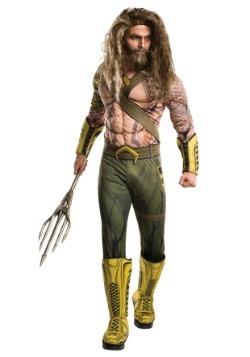 Deluxe Adult Dawn of Justice Aquaman Costume