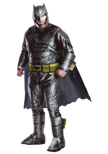 Plus Size Deluxe Dawn of Justice Armored Batman Costume