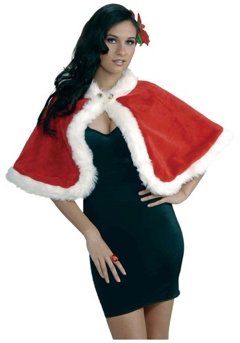 Click Here to buy Mrs. Claus Holiday Stole from HalloweenCostumes, CDN Funds & Shipping