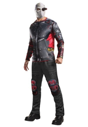 Click Here to buy Deluxe Suicide Squad Deadshot Costume from HalloweenCostumes, CDN Funds & Shipping