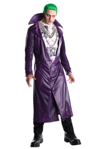 Click Here to buy Deluxe Suicide Squad Joker Costume from HalloweenCostumes, CDN Funds & Shipping