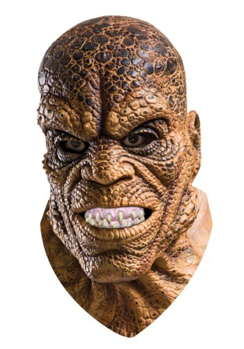 Click Here to buy Suicide Squad Killer Croc Overhead Latex Mask from HalloweenCostumes, CDN Funds & Shipping