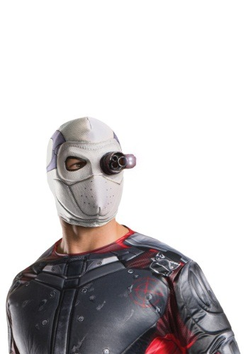 Click Here to buy Suicide Squad Deadshot Light Up Mask from HalloweenCostumes, CDN Funds & Shipping