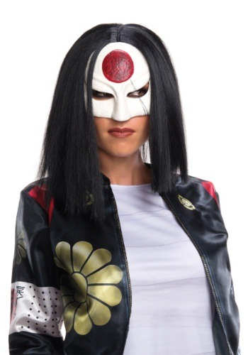 Click Here to buy Suicide Squad Katana Wig from HalloweenCostumes, CDN Funds & Shipping