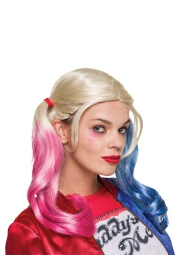 Click Here to buy Suicide Squad Adult Harley Quinn Wig from HalloweenCostumes, CDN Funds & Shipping