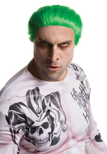 Click Here to buy Suicide Squad Adult Joker Wig from HalloweenCostumes, CDN Funds & Shipping