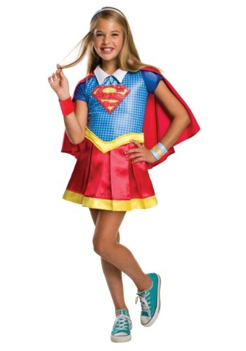 DC Superhero Girls Supergirl Deluxe Costume