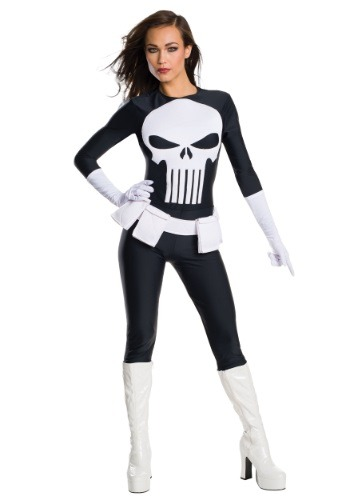 Women's Punisher Costume