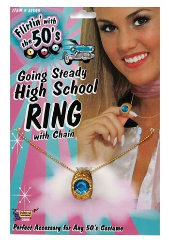 Click Here to buy High School Class Ring Necklace from HalloweenCostumes, CDN Funds & Shipping