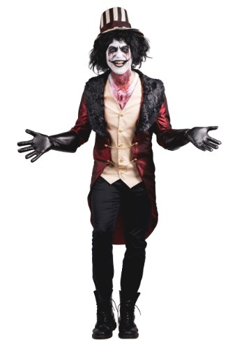 Click Here to buy Mens Mad House Ringmaster Costume from HalloweenCostumes, CDN Funds & Shipping