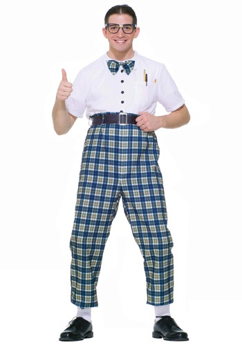 Click Here to buy 50s Class Nerd Costume from HalloweenCostumes, CDN Funds & Shipping