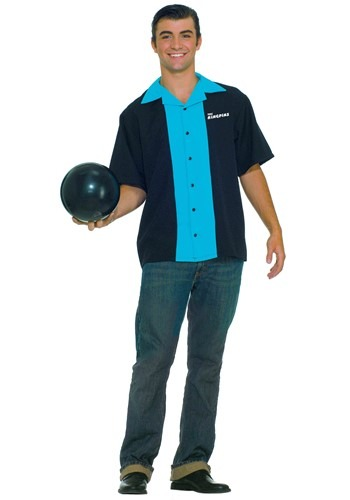 Click Here to buy King Pin Bowling Shirt from HalloweenCostumes, CDN Funds & Shipping