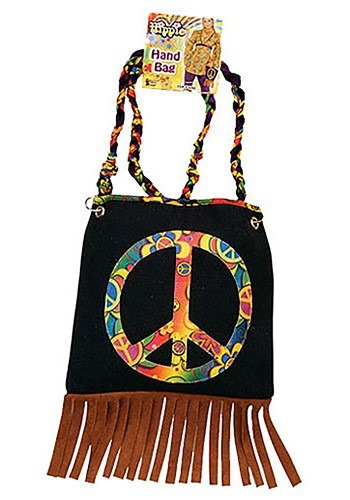 Click Here to buy Peace Sign Purse from HalloweenCostumes, CDN Funds & Shipping