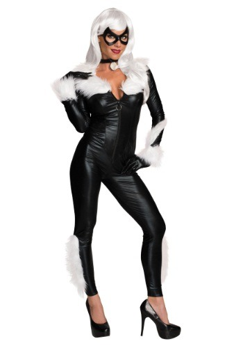 Click Here to buy Womens Marvel Black Cat Costume from HalloweenCostumes, CDN Funds & Shipping